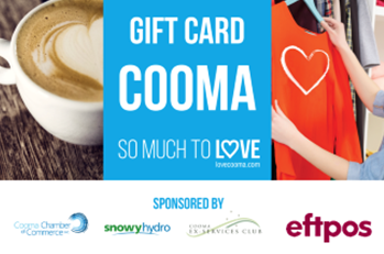 Cooma Gift Card
