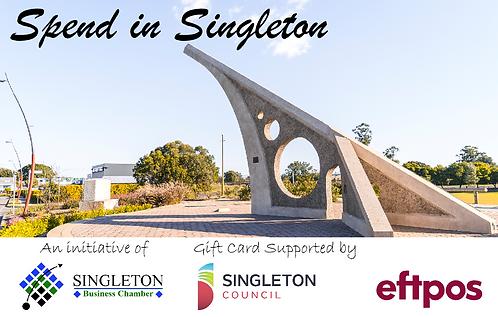 Singleton Gift Card