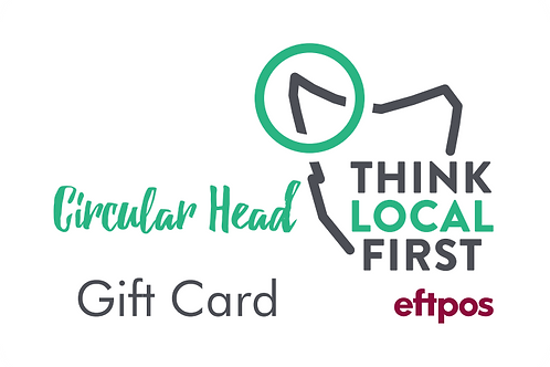 Circular Head Gift Card