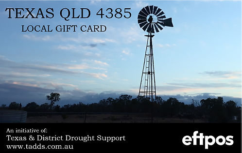 Texas Gift Card