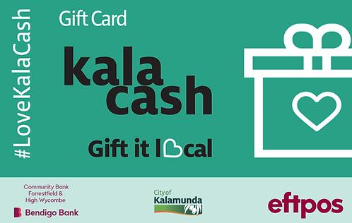 Kala Cash Gift Card