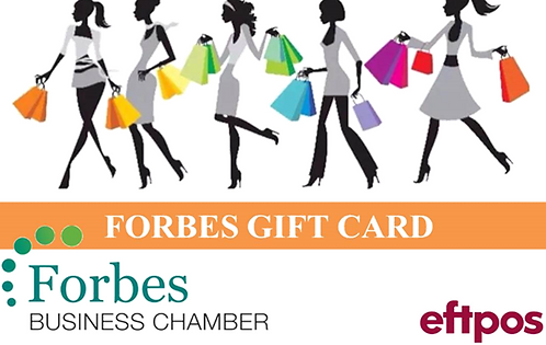 Forbes Gift Card
