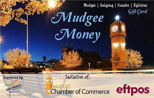 Mudgee Money Gift Card