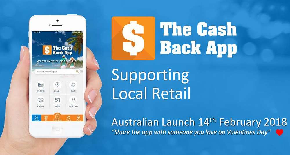 Using The Cash Back app to encourage local shopping