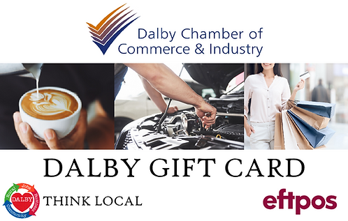 Dalby Gift Card