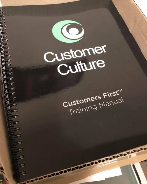 Customers First Training Manual