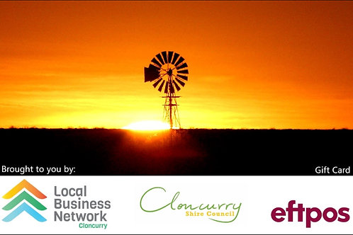 Cloncurry Gift Card