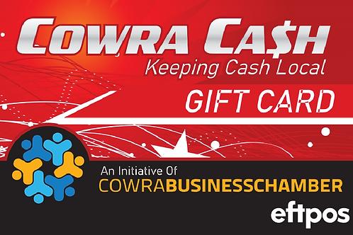 Cowra Cash Gift Card