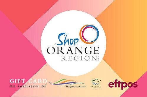 Orange Gift Card