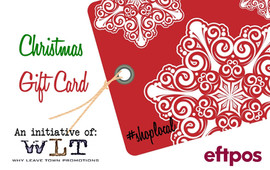 WLT Christmas Load Up Promotion Card