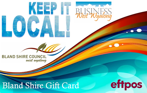 Bland Shire Gift Card