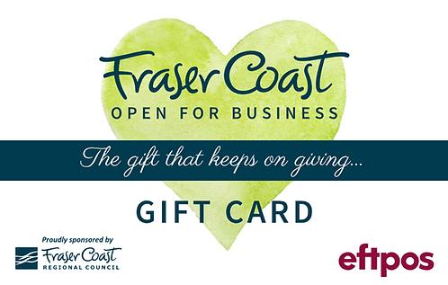 Fraser Coast Gift Card