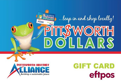 Pittsworth Gift Card