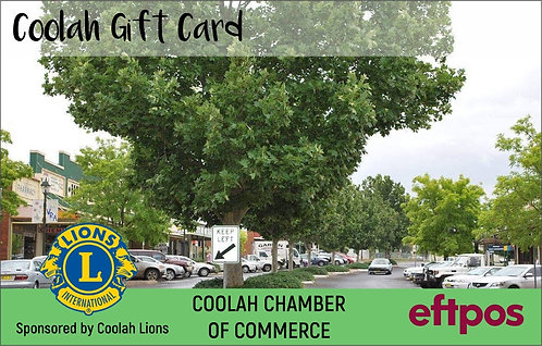 Coolah Gift Card