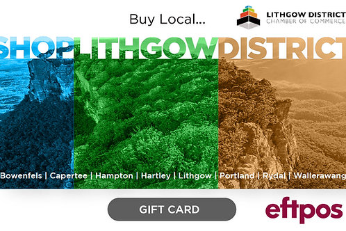 Lithgow Gift Card