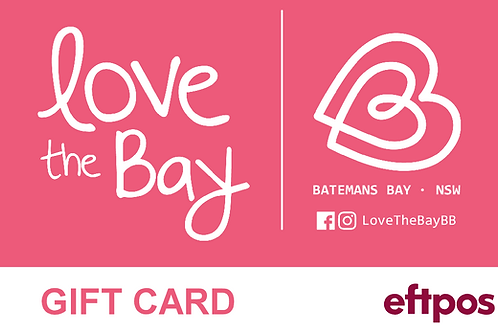 Batemans Bay Area Gift Card