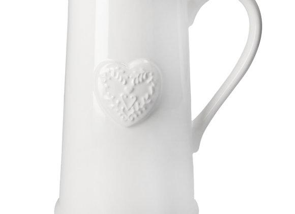 White Ceramic Jug.