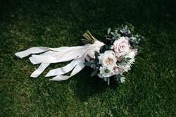 Brides Bouquet in Blush
