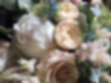 Close up of Summer Wedding Bouquet