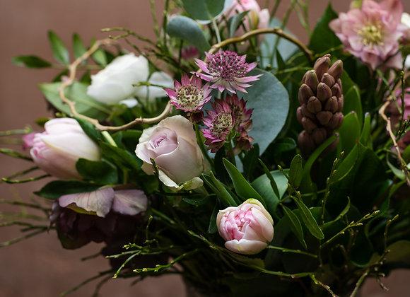 Vase of Seasonal flowers