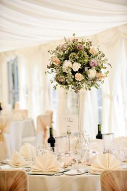 tall flower table arrangements
