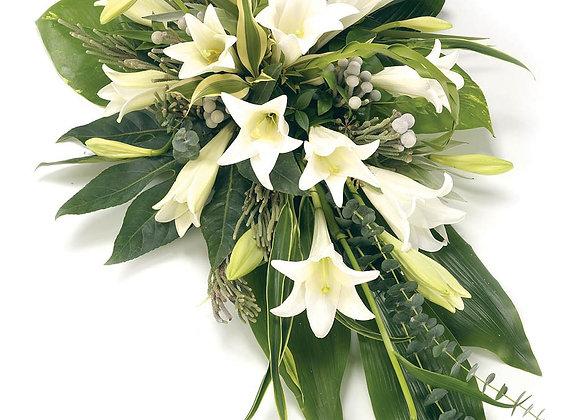 longiflorum lily bouquet