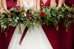 Autumn wedding Umberslade Hall