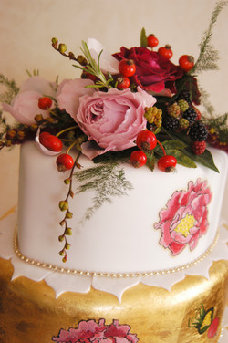 flowers for cake