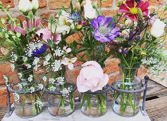 rustic jar display