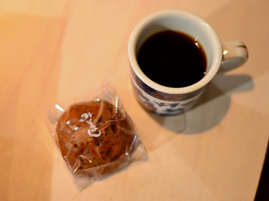 お土産とコーヒー