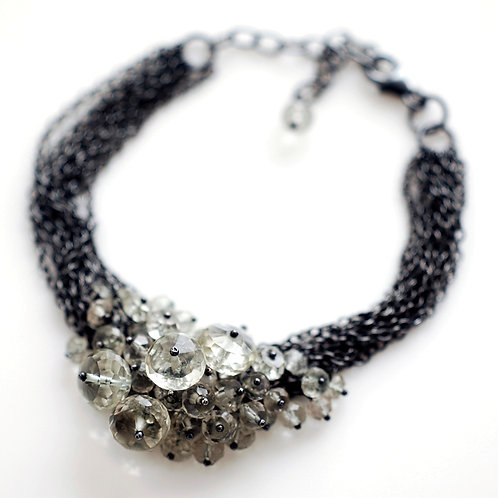 Kate Wood - Multi Chain Cluster Bracelet