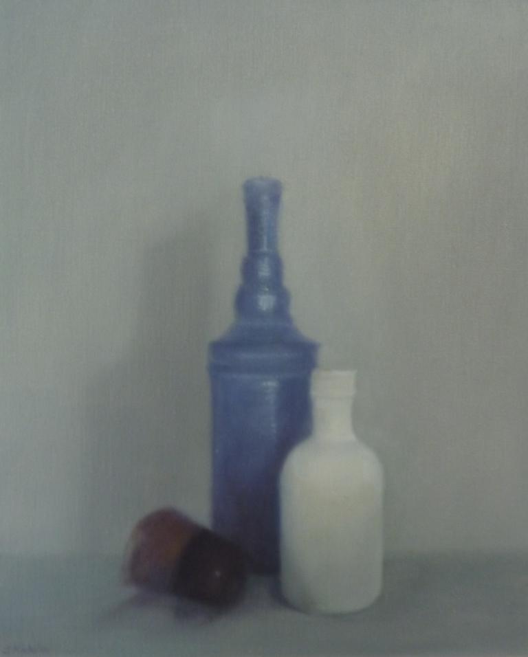 """""""la bouteille bleue"""""""