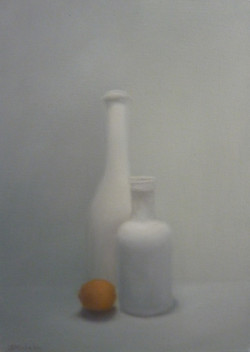 """""""la clémentine et les bouteilles"""""""