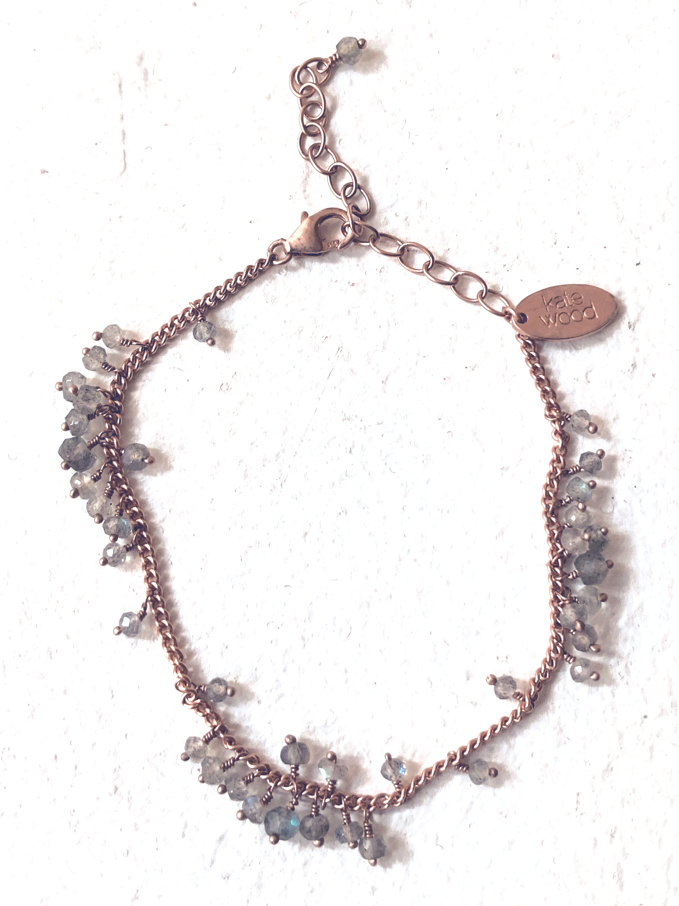 bracelet scattered and row