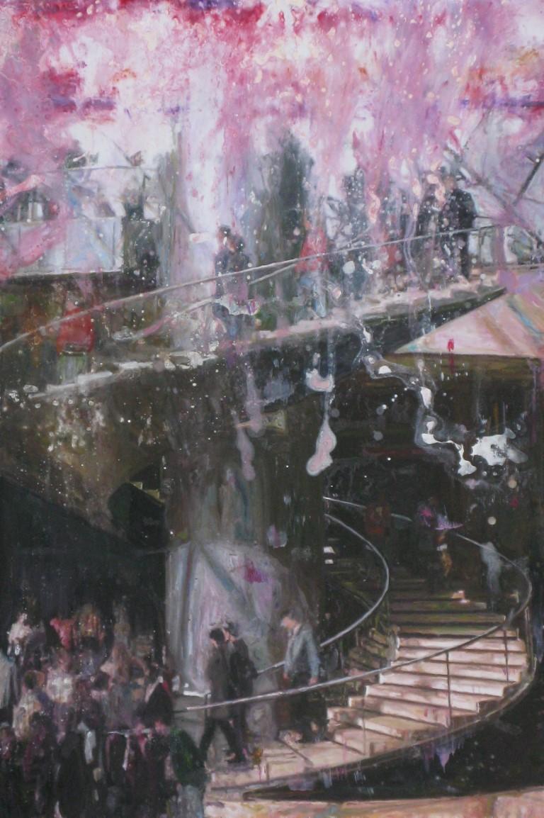 """""""escalier du louvre"""""""