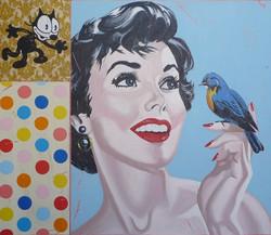 """femme oiseau"""