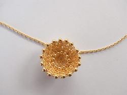 collier pendentif, vermeil