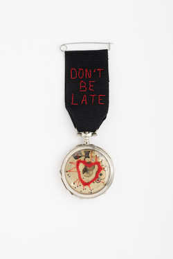 """""""don't be late for love"""""""