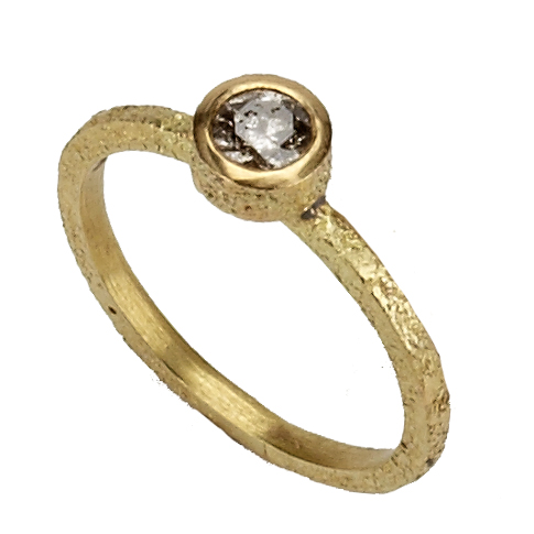 "bague "" Dust gold """
