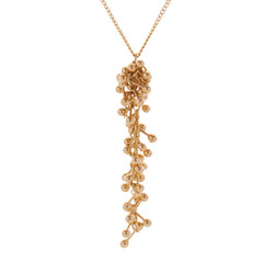 """collier """" Gold Drop """""""