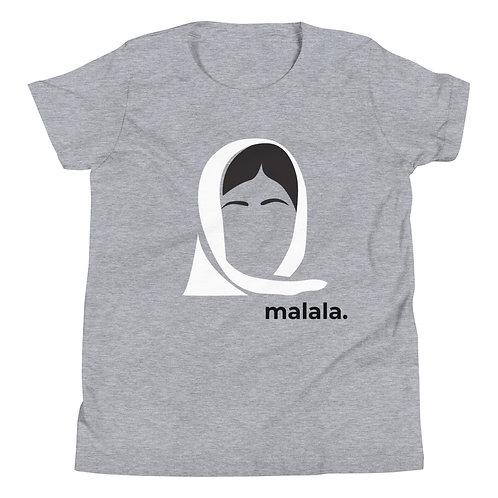 malala. Youth Short Sleeve T-Shirt