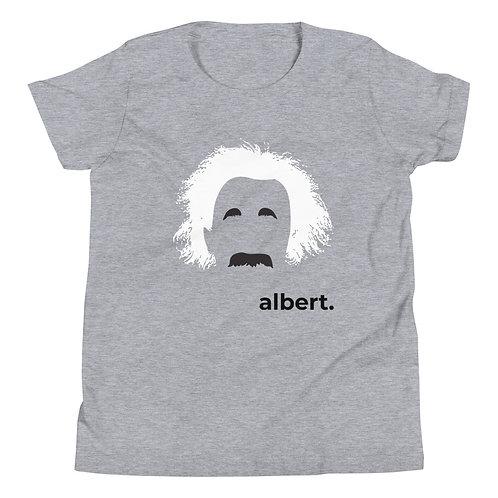 albert. Youth Short Sleeve T-Shirt