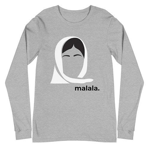 malala. Gender Neutral Long Sleeve Tee