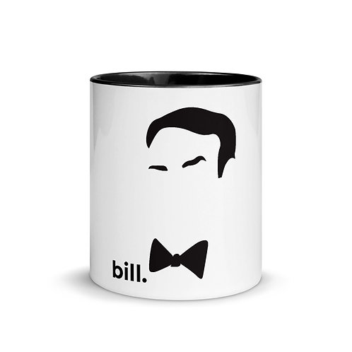 bill. Mug with Color Inside