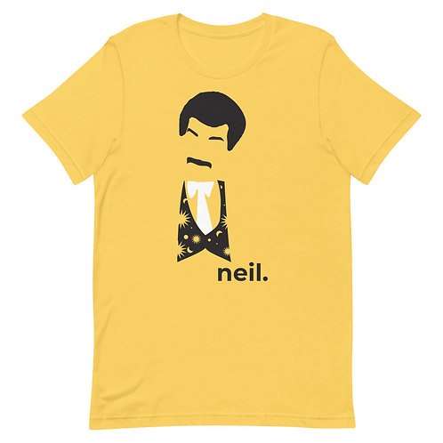 neil. Short-Sleeve Gender Neutral T-Shirt