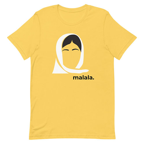 malala. Short-Sleeve Gender Neutral T-Shirt