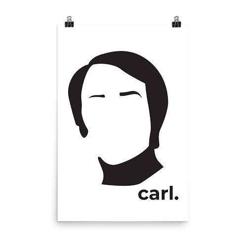 carl. Poster