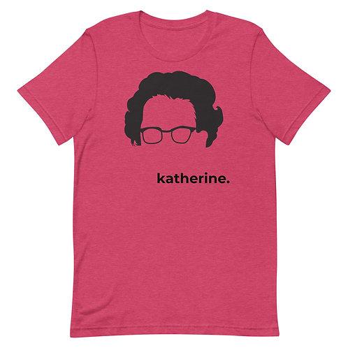 katherine. Short-Sleeve Gender Neutral T-Shirt