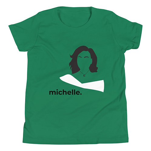 michelle. Youth Short Sleeve T-Shirt