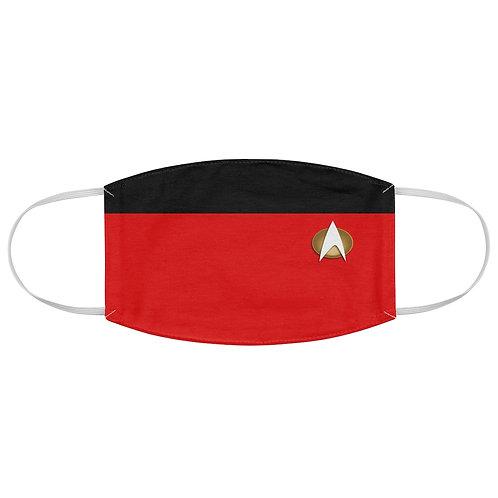 Star Trek Red Fabric Face Mask
